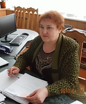 """Секретарь приемной руководителя МК """"Этанол"""" В.А.Коноплич."""