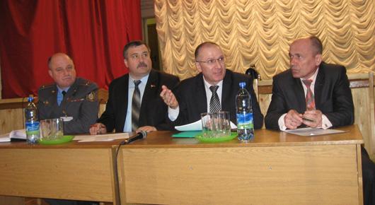Выездное заседание рабочей группы: Осовецкий сельский Совет