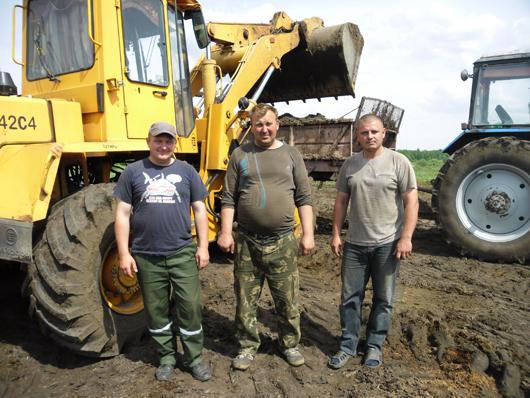 В.Н.Гусак, М.М.Пилипенко, М.Л.Прокопенко –  слаженная команда проверенных временем работников.