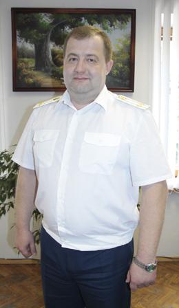 Антон Николаевич ЧУЕШОВ, прокурор Мозырского района