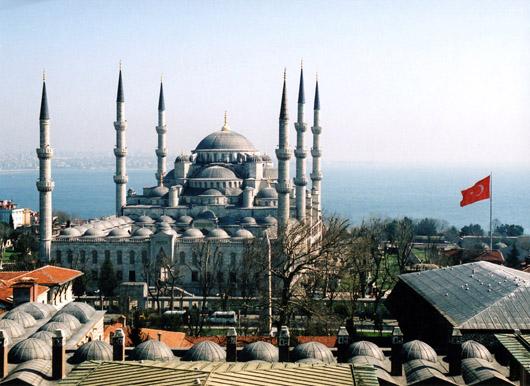 Фото самой большой в турции мечети
