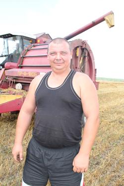 Механизатор Андрей Федорович Герасимович.