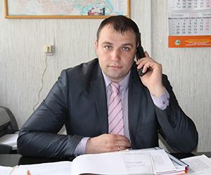 начальник землеустроительной службы Мозырского районного исполнительного комитета Максим Андреевич Киселев.