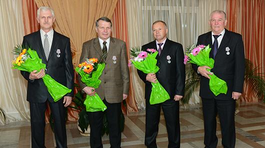 награждённые медаль За трудовые заслуги Зенькович Романовский Садов Дубовец