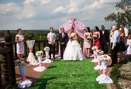 """""""Большая греческая свадьба"""" на Замковой горе."""