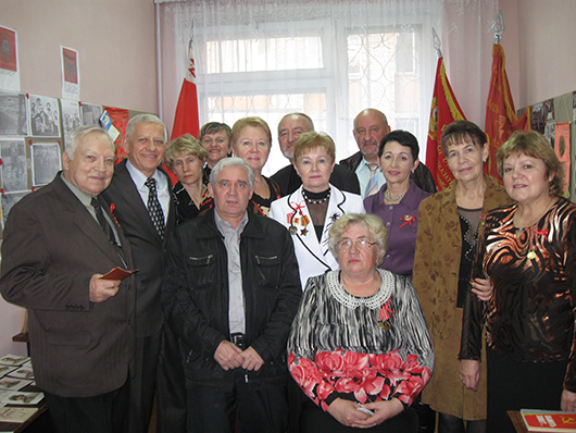 В СШ № 12 открылся музей истории комсомола Мозырщины