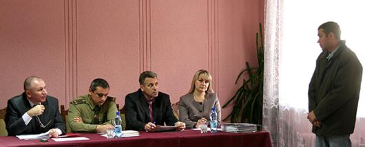 Выездное заседание рабочей группы Мозырского районного исполнительного комитета в ЖЭУ № 2 и № 3