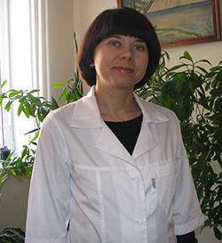 Заведующая  поликлиникой № 3  врач-эндокринолог Г.А.Будковская.