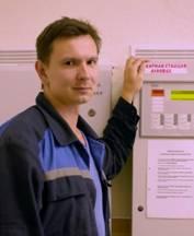 Евгений Мейлах — инженер радиорeлейных коммуникаций Мозырского НПЗ.