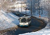 Как в Мозыре будет работать общественный транспорт на Новый год