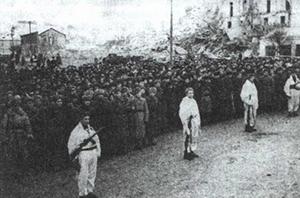 Митинг в Мозыре 14 января 1944