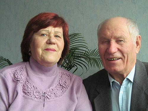 Раиса Андреевна и Николай Никонорович