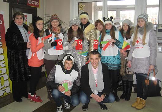 волонтеры Мозыря