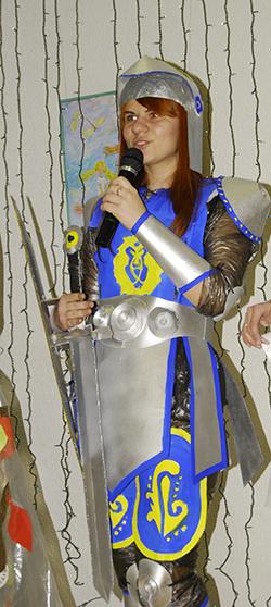 Обладательница Гран-при Алина Шастовец.