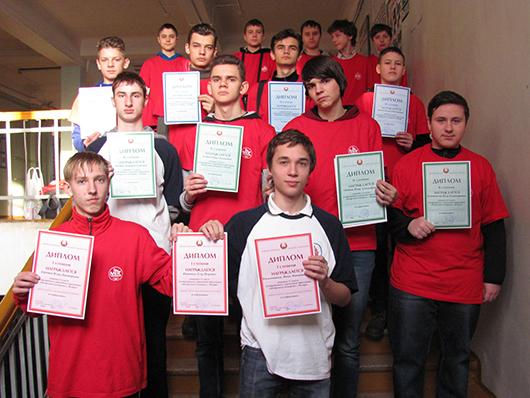 Воспитанники кружка спортивного программирования клуба юных пожарных  г. Мозыря завоевали 11 дипломов республиканской олимпиады школьников по информатике
