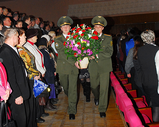 Праздничные мероприятия в ДК ОАО «Мозырский НПЗ» к 25-летия вывода советских войск из Афганистана