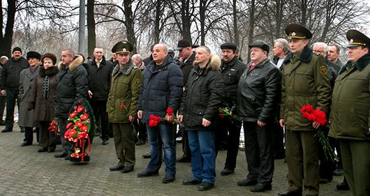 Память павших воинов-интернационалистов почтили в Мозыре