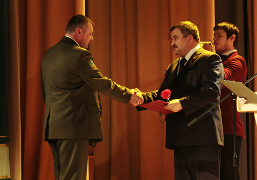 Торжественный вечер, посвященный Вооруженным Силам РБи  Дню защитников Отечества в Мозыре