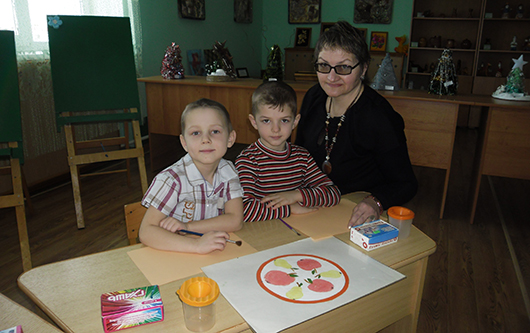 Заместитель заведующей Алла Леонидовна Жильская