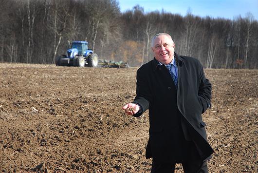 """Н.Ф.Олехнович: """"Поля уже практически готовы к началу сева""""."""
