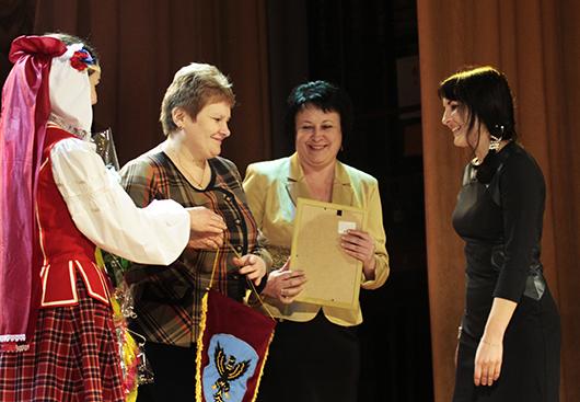 Чествования победителей районного соревнования среди трудовых коллективов Мозырщины по итогам работы за 2013 год