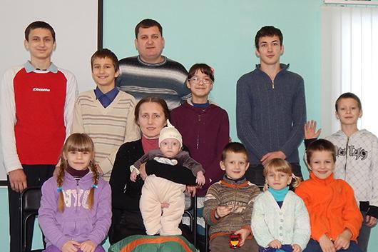 семья Тишковых