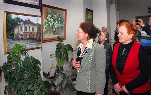 выставка «Весенние фантазии» Андрея ДЗЮБАКА