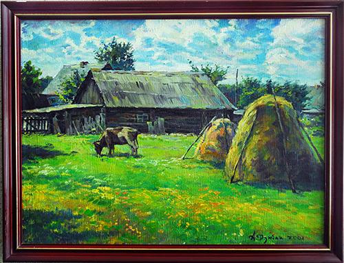 художник Андрей Дзюбак