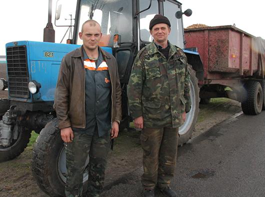 Вячеслав Подцепня и Александр Шевко