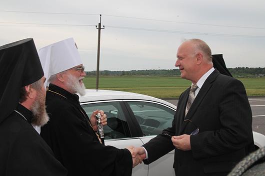 Визит Митрополита Минского и Слуцкого, Патриаршего Экзарха всея Беларуси Павла в Мозырь