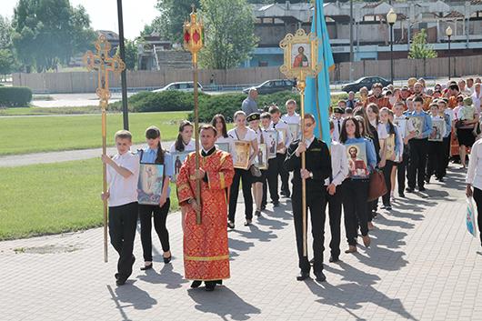 крестный ход в честь святых Кирилла и Мефодия в Мозыре