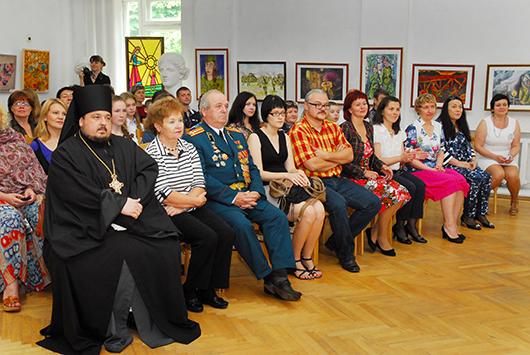 «Мозырская палитра» принимает гостей