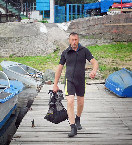 Денис Федорович ПЛЕВАКО, водолаз 1-го класса