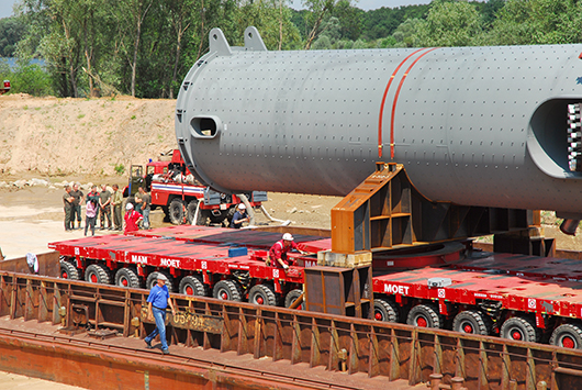 На Мозырский НПЗ доставлены реакторы из Японии
