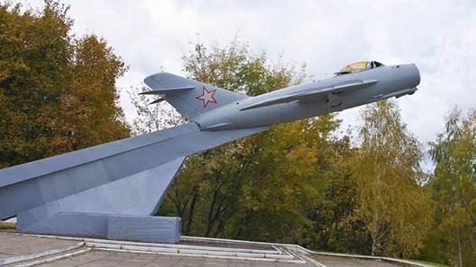 самолет (в Мозыре)