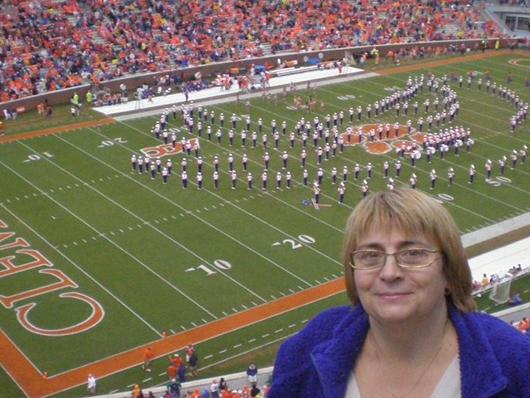 Я на стадионе в Клемсоне. Южная Каролина.