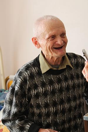 Сергей Андреевич Машков и сегодня находит повод для улыбки.