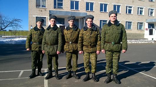 Слева направо - Мельченко, Амельченко, Фицнер, Кузьмин, Костюкевич (2)