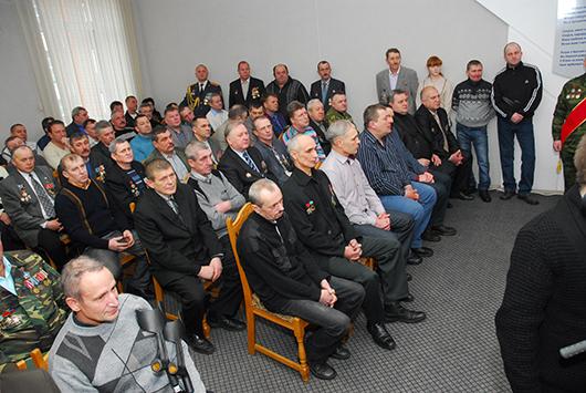 Торжественный прием в Мозырском районном исполнительном комитете