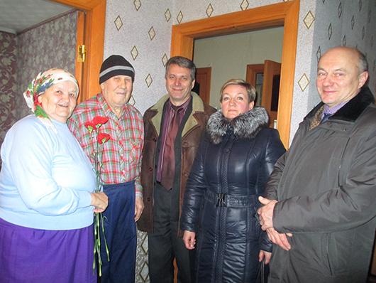 В семье Ящуковских.