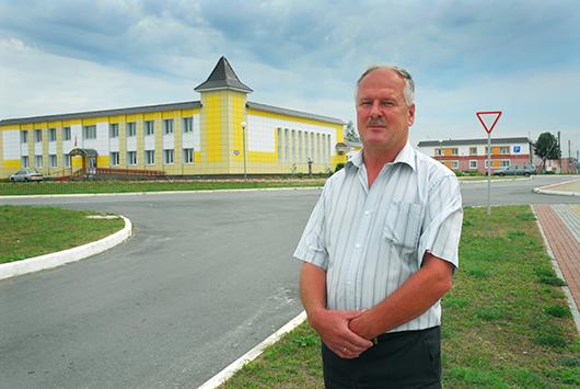 Вячеслав Николаевич КОВШАРОВ, агрогородок  Михалковская Рудня