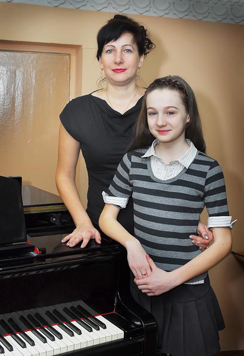 Виктории Ропот с мамой Иреной Никитенко
