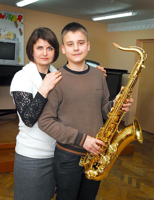 Владислава Плугарев с маой Мариной Плугаревой