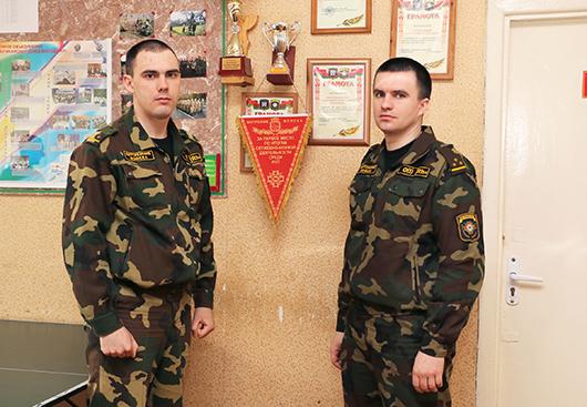 Павел Кацуба и Валерий Волк