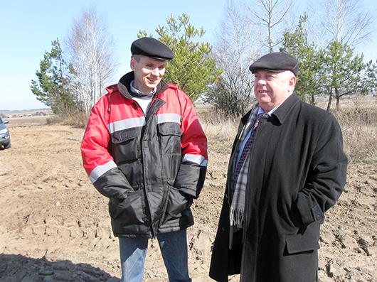 Юрий Николаевич Боженков и Николай Федорович Олехнович