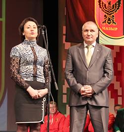 Валентина Алексеевна Назаренко и Феликс Федорович Галюк