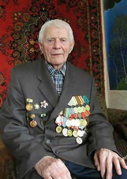 Виктор Сузько ветеран