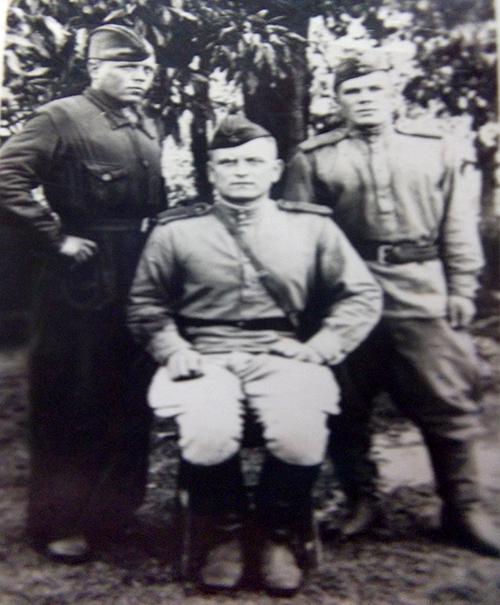 Латвия. 1945 год.