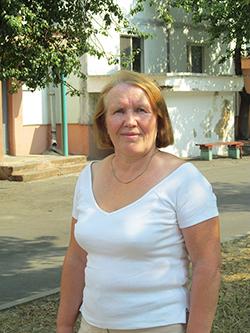 Лариса, пенсионерка