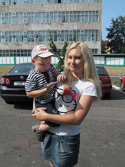 Ольга, мама